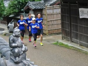 竹内街道を駆ける