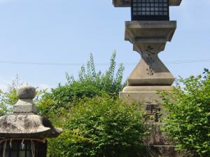 太神宮の高燈籠